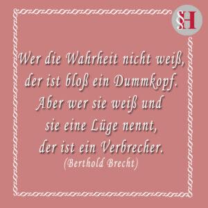 Jura Zitate Berthold Brecht Zitat