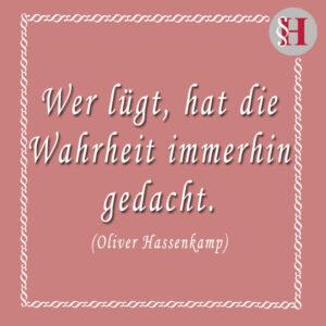 Jura Zitat Oliver Hassenkamp Zitat