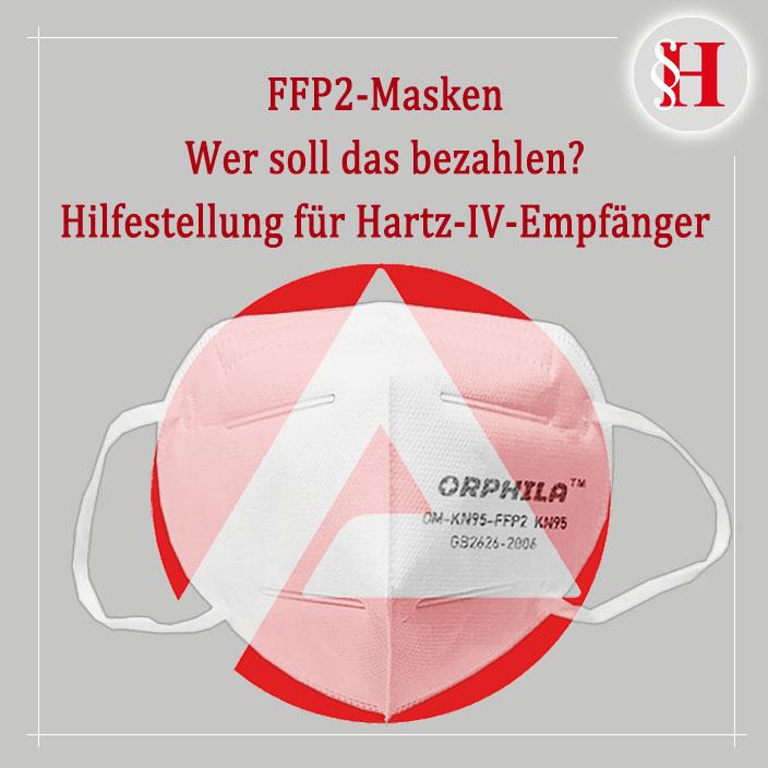 Hartz-4 FFP-2 OP Masken Hilfestellung
